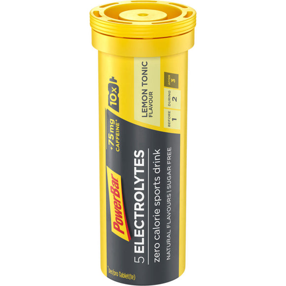 Powerbar 5 Electrolytes, Lemon Tonic