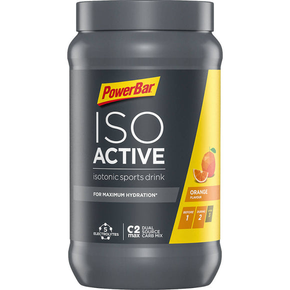 Powerbar Isoactive, orange, 600g