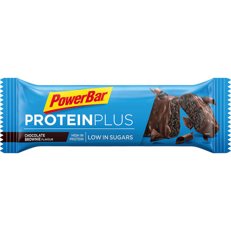 Powerbar Protein Plus Low Sugar, Chocolate Brownie, 35 g