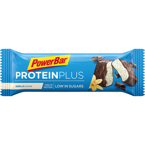 Powerbar Protein Plus Low Sugar, Vanille, 35 g