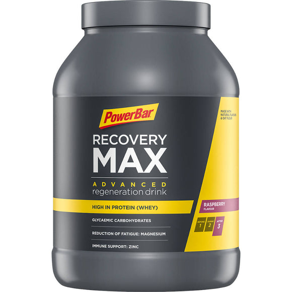 Powerbar Recovery Max, Himbeere, 1144g