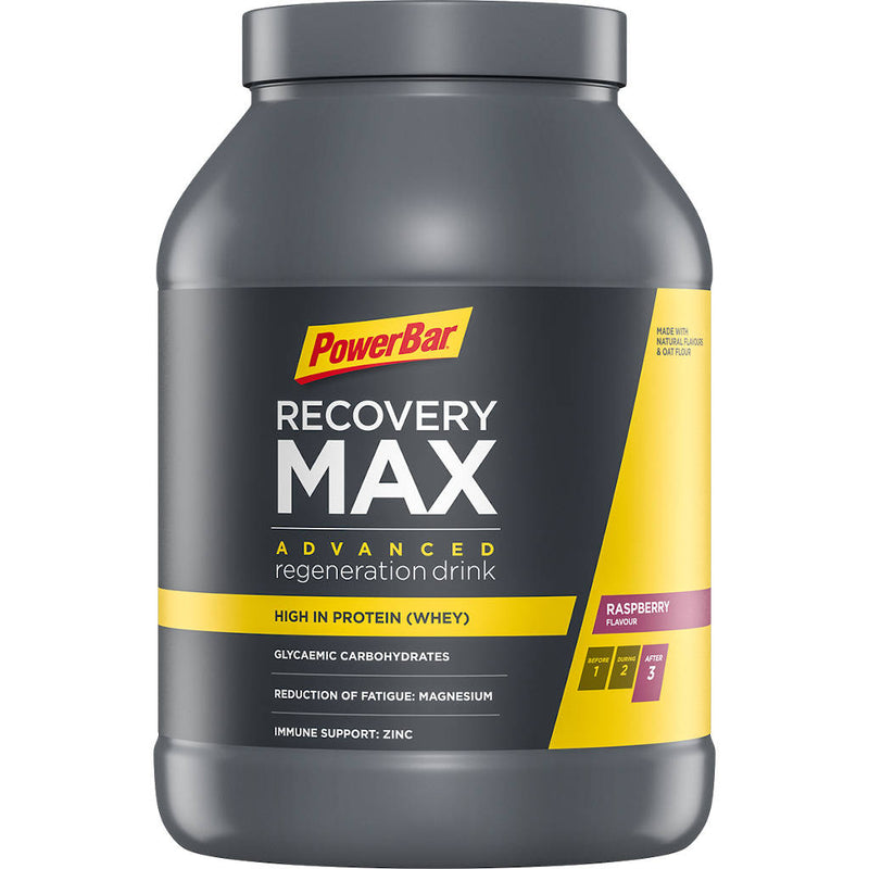 Powerbar Recovery Max, Himbeere, 1144g - MHD 1/2021
