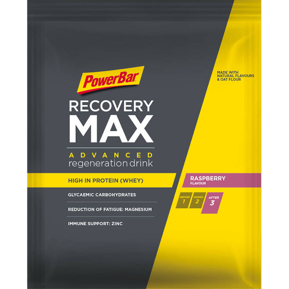 Powerbar Recovery Max, Himbeere, 88g