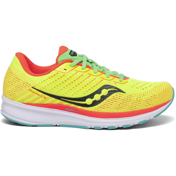 Saucony Ride 13, Damen, citron/mutant