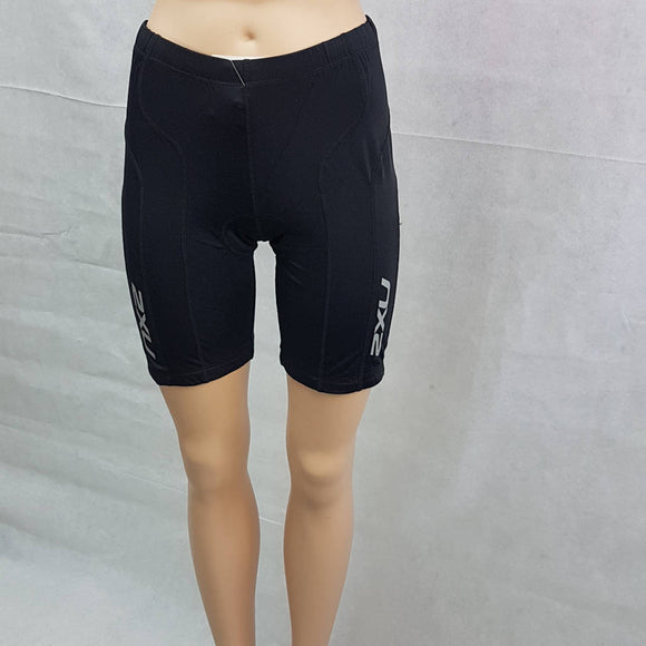 2XU Active Tri Short, Damen, schwarz