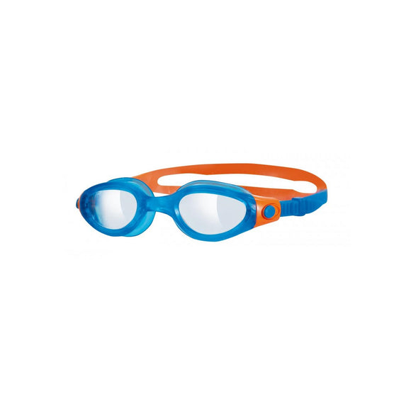 Zoggs Phantom Junior, klare Gläser, blau/orange