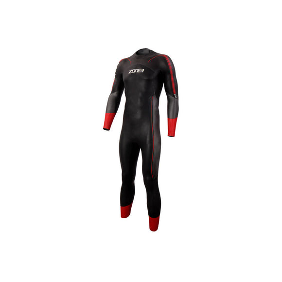Zone3 Men's Align Neutral Buoyancy Wetsuit, Neoprenanzug, Herren, 2020, schwarz/rot,