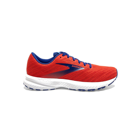 Brooks Launch 7, Herren, rot/blau