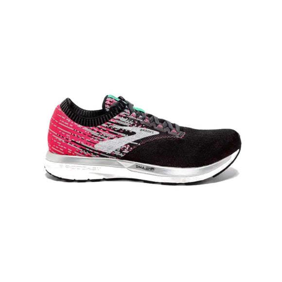 Brooks Ricochet, Damen, rose/schwarz