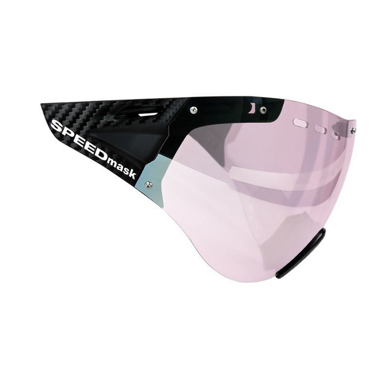 Casco SPEEDmask, Carbonic, schwarz pink/black