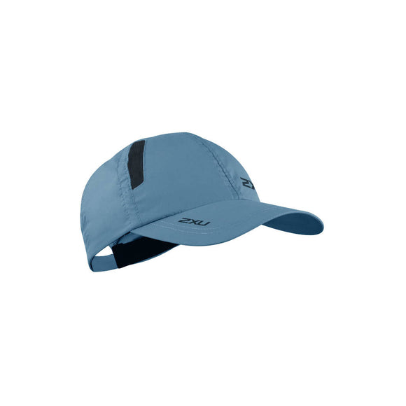 2XU Run Cap, Unisex, denim/schwarz