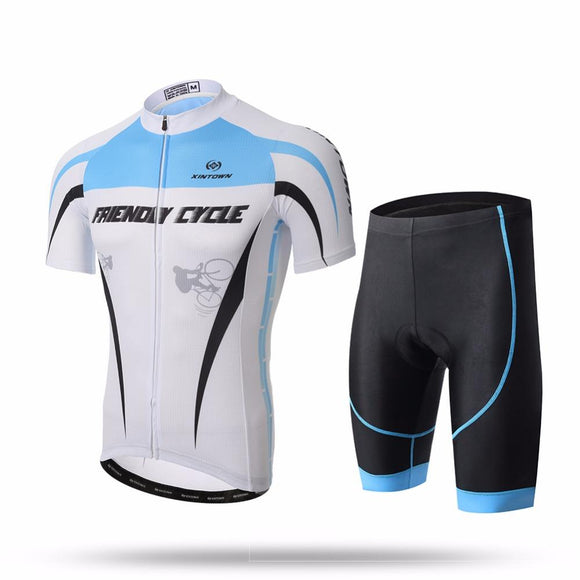 XINTOWN  Short Sleeve Cycling Set