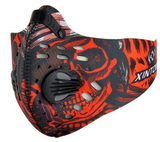 Carbon Dust-proof Cycling Face Mask
