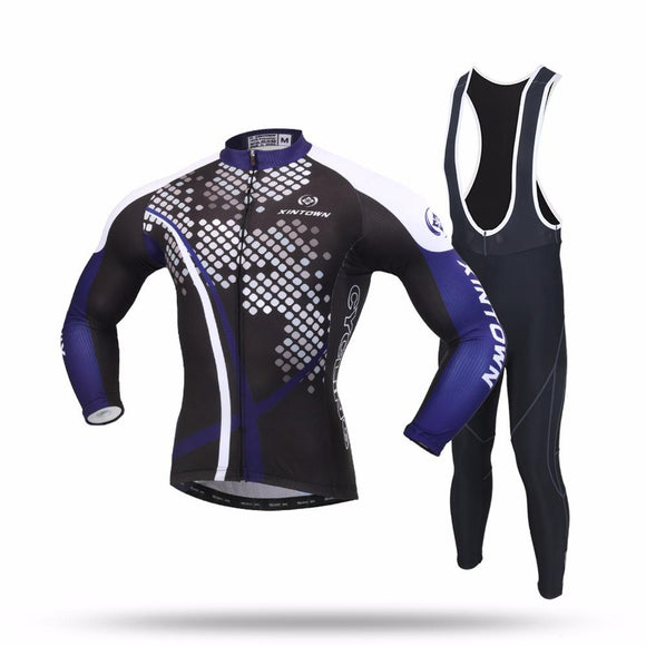 Cycling Set Long Sleeve Breathable Jersey
