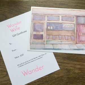Wander x Wine Gift Card