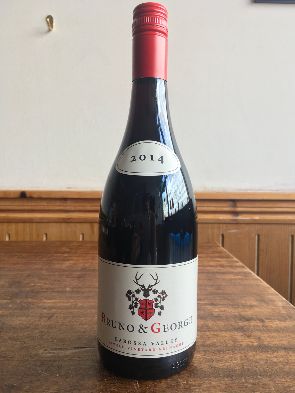 Bruno & George Single Vineyard Grenache, 2014