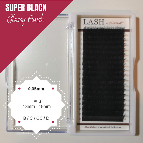 LASH Velvet Mink 0.05mm Long Mixed Tray (Black)