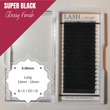 LASH Velvet Mink 0.06mm Long Mixed Tray (Black)