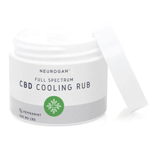 CBD Cooling Peppermint Rub (2oz)