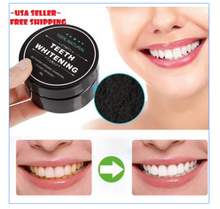 Load image into Gallery viewer, BEST CHARCOAL TEETH WHITENING POWDER
