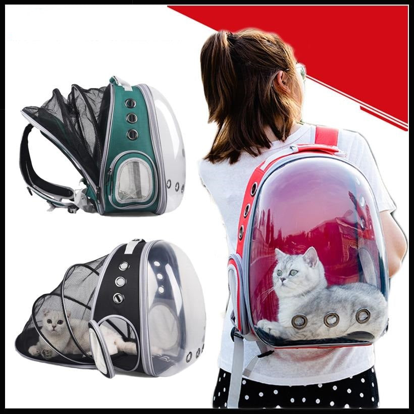 Pet Cat Breathable Backpack Small Dog