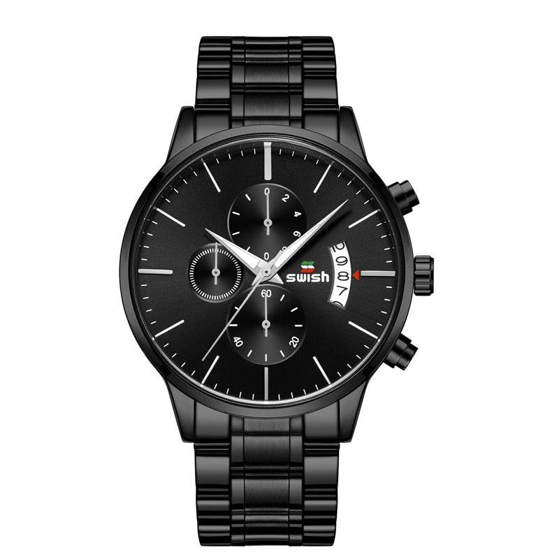 Luxury SWISH Watch Men a revenir