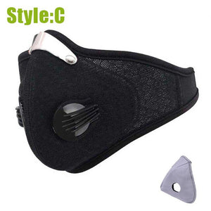 Adult PM2.5 Breathable Outdoor Sports Face Mask
