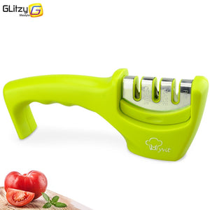 Knife Sharpener 3 Stages Professional Kitchen