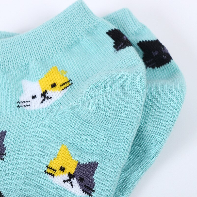 Socks - super many cat heads
