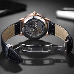 Skeleton Relogio Watch Men Automatic Tourbillon