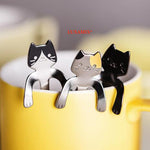 Beauty 6 Cute Cat Spoons