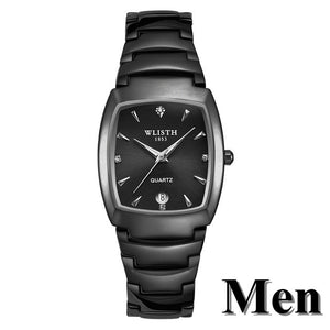 Couple Watches Men Women Luxury Brand Stainless Steel Waterproof Quartz Watch Calendar Luminous Reloj Mujer Hombre Lovers Watch