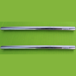 Load image into Gallery viewer, reusable stainless steel straws (2-pack)