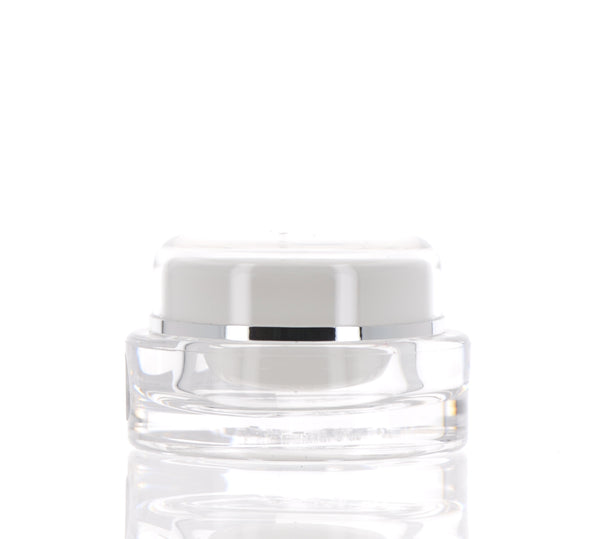 Oval, Double Wall Jar, 10ml