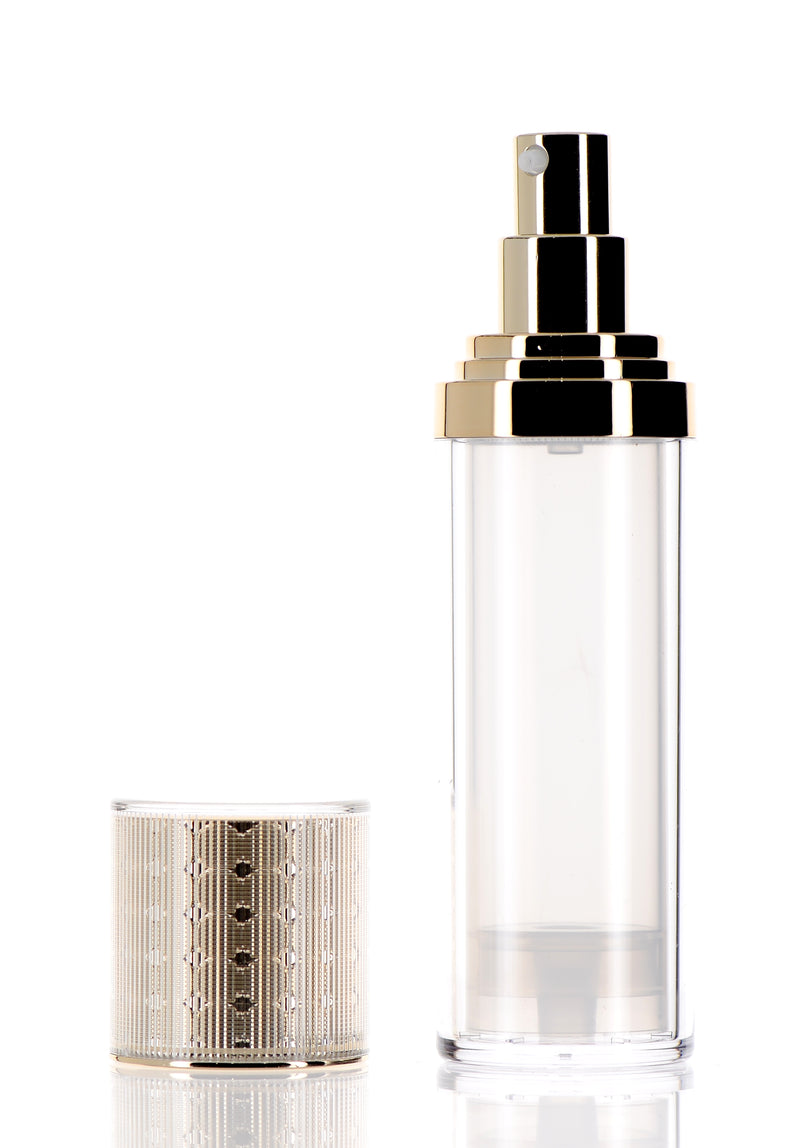 Gold Luxury Airless Pump Bottle for Skincare