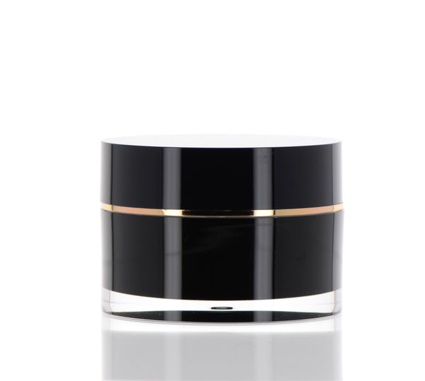 Black, Double Wall Jar, 40ml