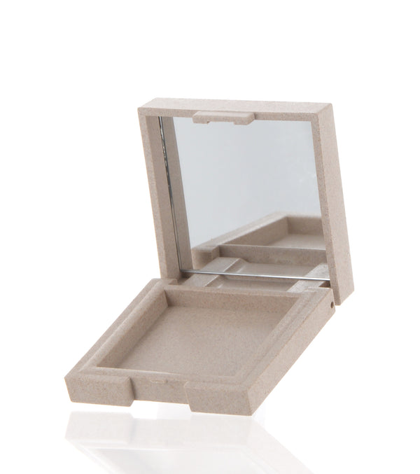 Eco-Friendly, Square Powder Compact