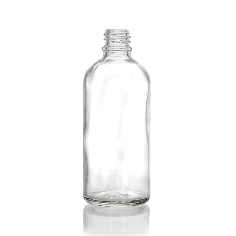 Clear Europe Glass Bottle 100ml