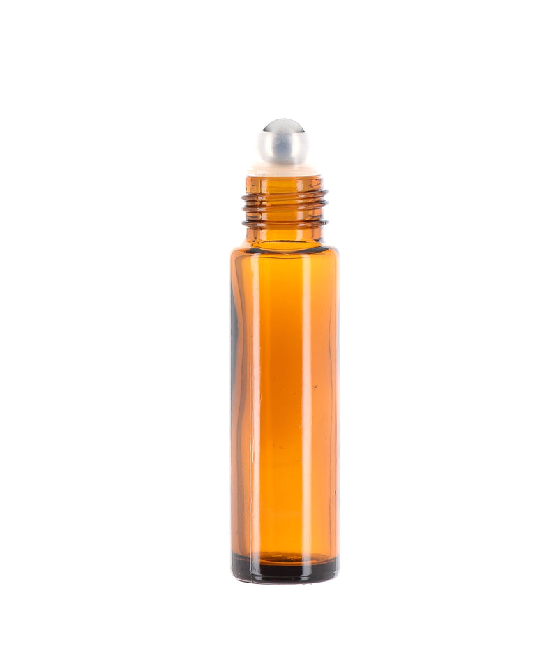 Amber, Rollerball Bottle, 10ml