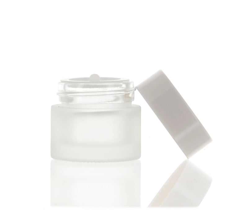 Round Frosted Jar, 5ml