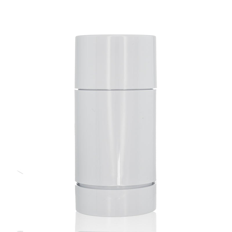 White Push Up Deodorant Stick Bottle 2.5oz