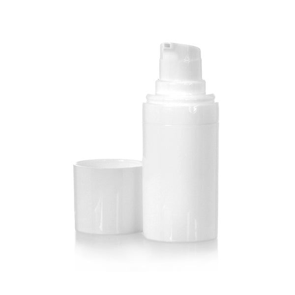 White Airless Bottle 15mL