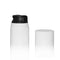 Airless Bottle 30ml Black Actuator