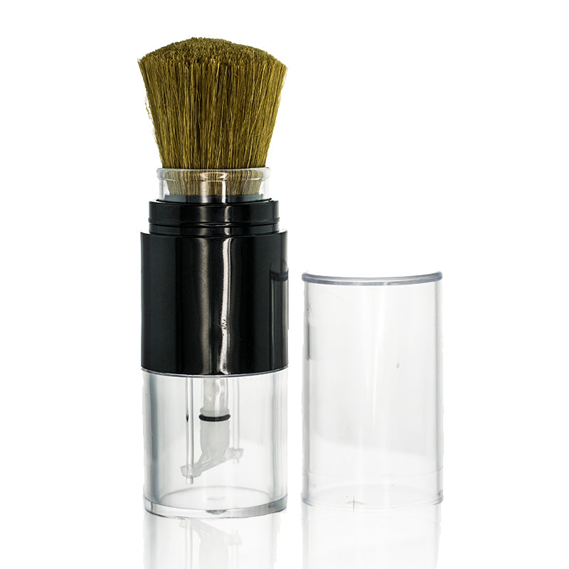 Retractable Brush-on Bottle for Foundation / Blush Powder