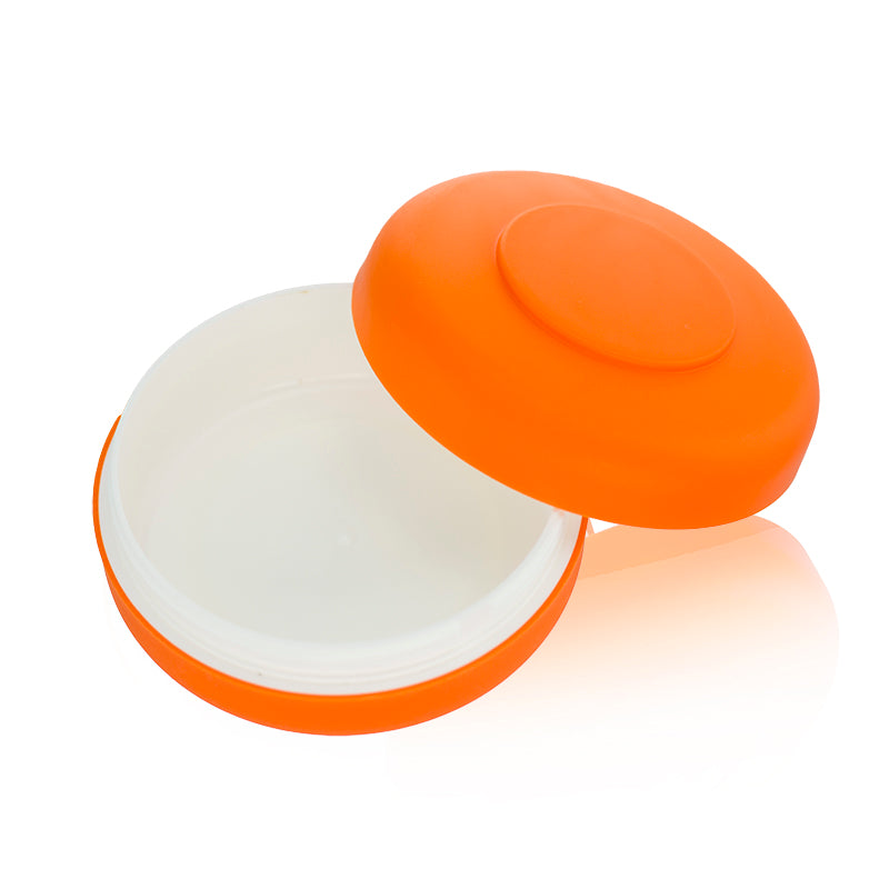 Round PP Orange Jar 80g