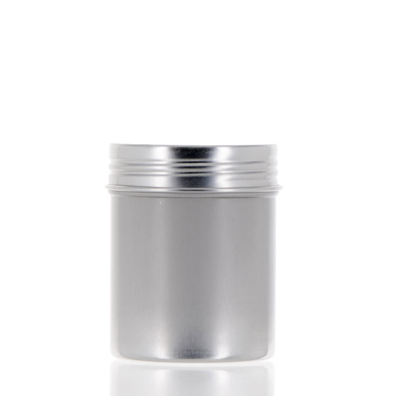 Aluminum Jar with Screw Cap, 100ml