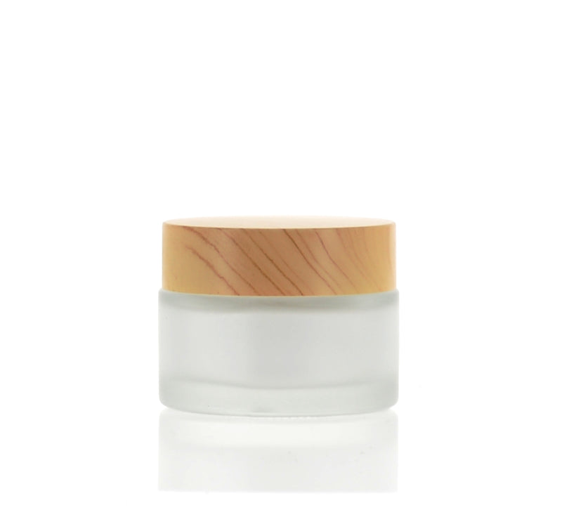 Round, Frosted Jar, 30ml