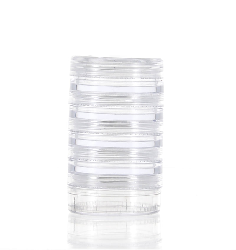 AS, Stackable, Round Jars, 4ml *4