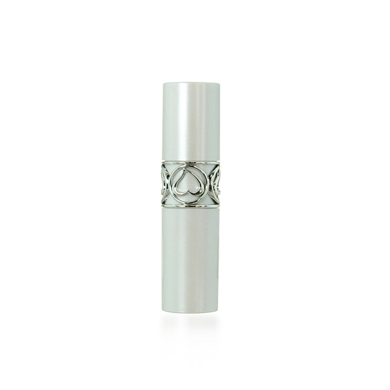 White Decorative Lipstick Case