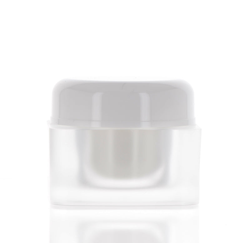 Square Matte, Double Wall Jar, 45ml
